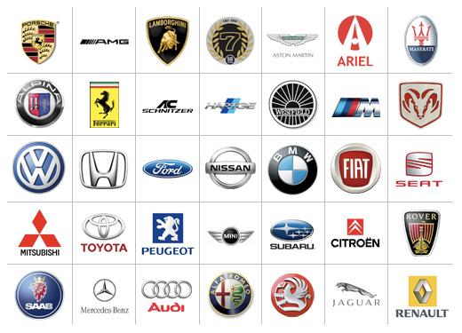 لگوی کمپانی های خودروی جهان